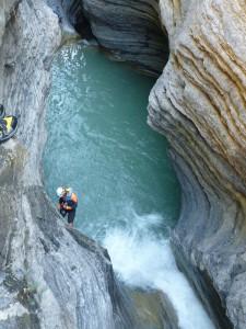 canyoning ariège - p1020996